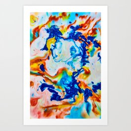 Milkblot No. 2 Art Print