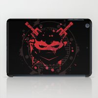 ninja turtle iPad Cases featuring Raphael Turtle by Sitchko Igor