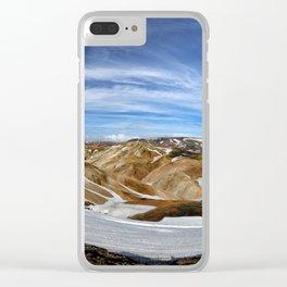 Landmannalaugar, Iceland Clear iPhone Case