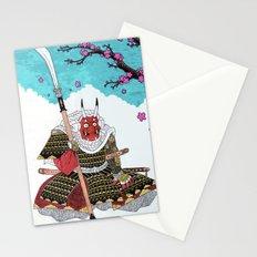 Demon Samurai Stationery Cards