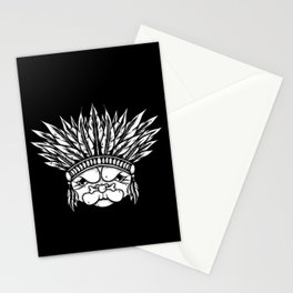 Tribal Pug Stationery Cards