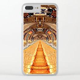 Sea of Creativity Clear iPhone Case