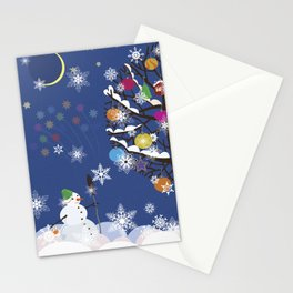 """Seasons"" Happy New Year Stationery Cards"