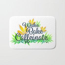 Wake Bake Caffeinate Bath Mat