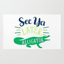 See Ya Later, Alligator Rug