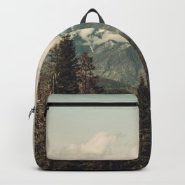 Snow capped Sierras Backpack