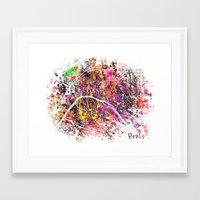 paris Framed Art Prints featuring Paris by Nicksman