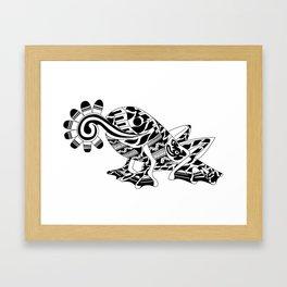 Frog Ecopet Framed Art Print