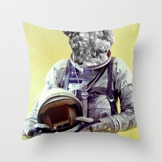 Astral Brain Storming Throw Pillow