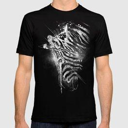 Zebra Mood - White T-shirt