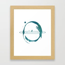 Blue Hypnose Framed Art Print