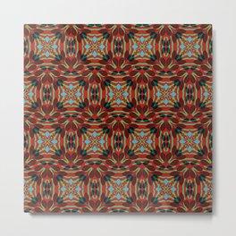 Leaf pattern 1c Metal Print