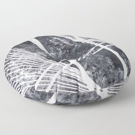#5 MODERN ABSTRACT PAINTING Floor Pillow