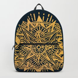 Bright lotus Backpack