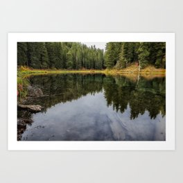 Clear Lake Fall 2018, No. 2 Art Print