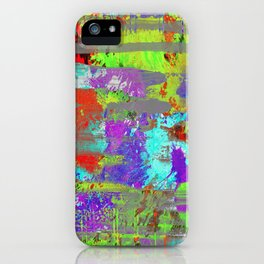 Colour Injection II iPhone Case