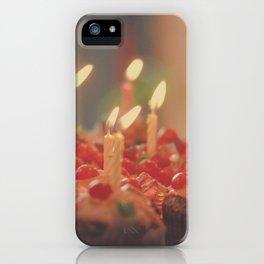Happy Birthday Cupcakes iPhone Case