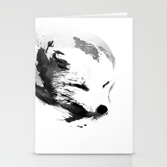 White Fox Stationery Cards