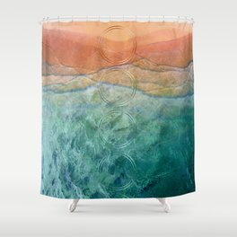 Fall Feels Summer Memories Shower Curtain