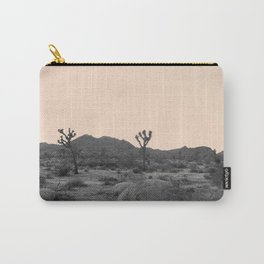 Joshua Tree in Nude Carry-All Pouch