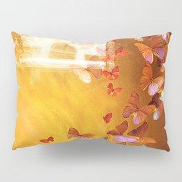 Butterflies in Window Pillow Sham