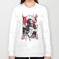 witchcraft Long Sleeve T-shirts featuring Witchcraft by edison zhou