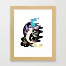 Magus - Bookworms United Framed Art Print