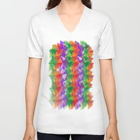 candy V-neck T-shirts featuring Candy  by Watch House Design