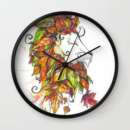 The Majesty of Mother Nature Wall Clock