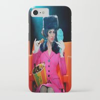 theatre iPhone & iPod Cases featuring Theatre Lady by Wanker & Wanker