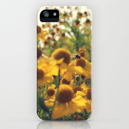 Yellow Bee iPhone Case