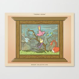 Bird Trophies Canvas Print