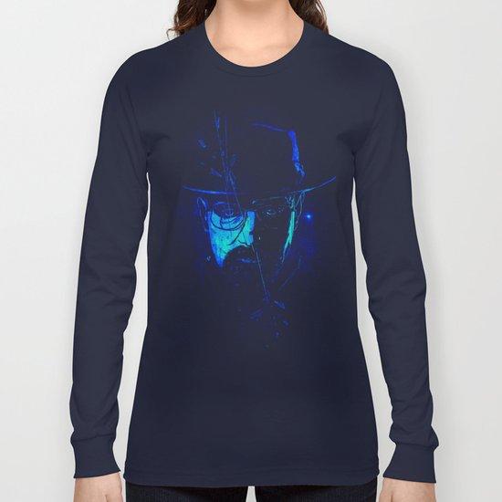 Mr. White (Crystal Blue) Long Sleeve T-shirt