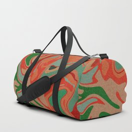Abstract Colorful Pattern Duffle Bag