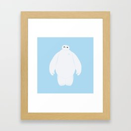 Baymax Framed Art Print