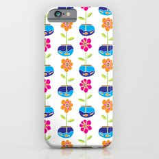Fish Bowl Flowers iPhone 6s Slim Case