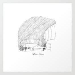 Renzo Piano Art Print