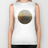 sunrise Biker Tanks featuring SUNRISE by vasare photography