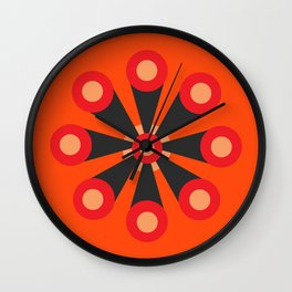 Flower Extract Wall Clock