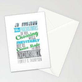 Procrastination Stationery Cards