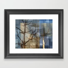 Dead Trees Framed Art Print