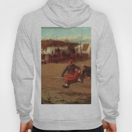 Winslow Homer1 - Pitching Quoits - Digital Remastered Edition Hoody