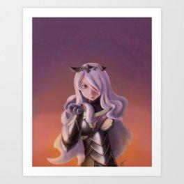 Camilla - Fire Emblem: Fates Art Print