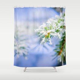 Bitter Cold, Cute Fir Tree Shower Curtain