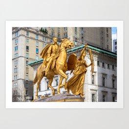 General Sherman: Grand Army Plaza NYC Art Print