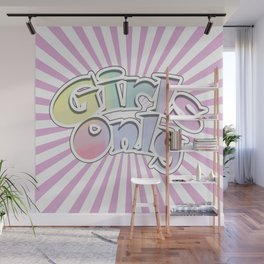 girls only Wall Mural