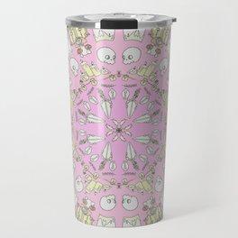 Death Spin Pink Travel Mug