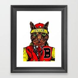 Thai Cat Framed Art Print