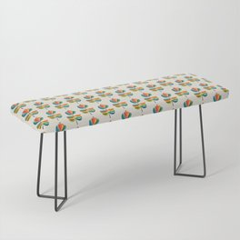 Whimsical Bloom Bench