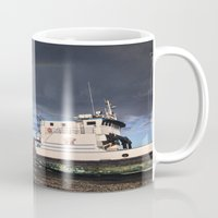 homer Mugs featuring Homer, Alaska by Chris Rod